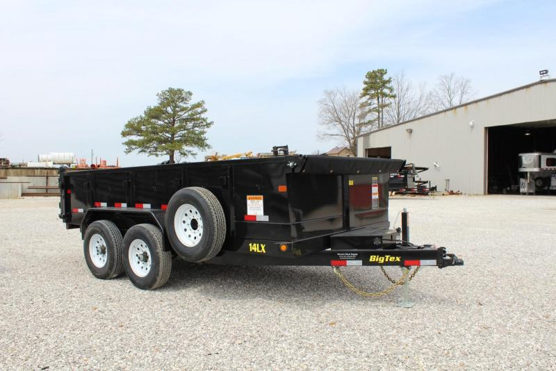 2018 Big Tex Trailers 14LX-14BK7SIRPD Dump Trailer