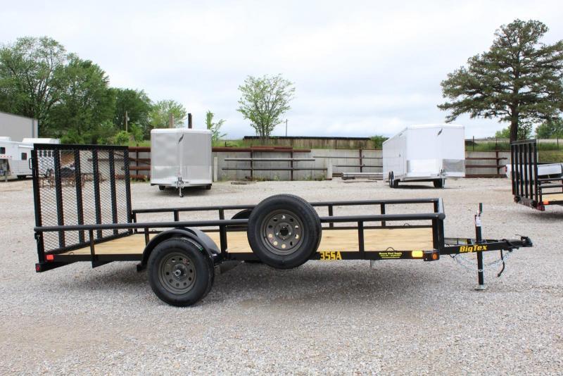 2020 Big Tex Trailers 35SA-14BK4RG Utility Trailer