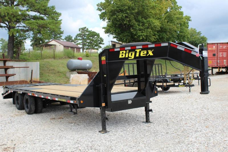 2019 Big Tex Trailers 22GN-20BK5MR Flatbed Trailer