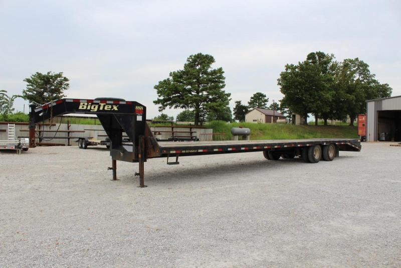 2016 Big Tex Trailers 22GN-35+5 Equipment Trailer