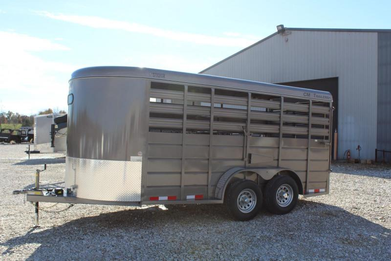 2020 CM 6'8x16 Livestock Trailer