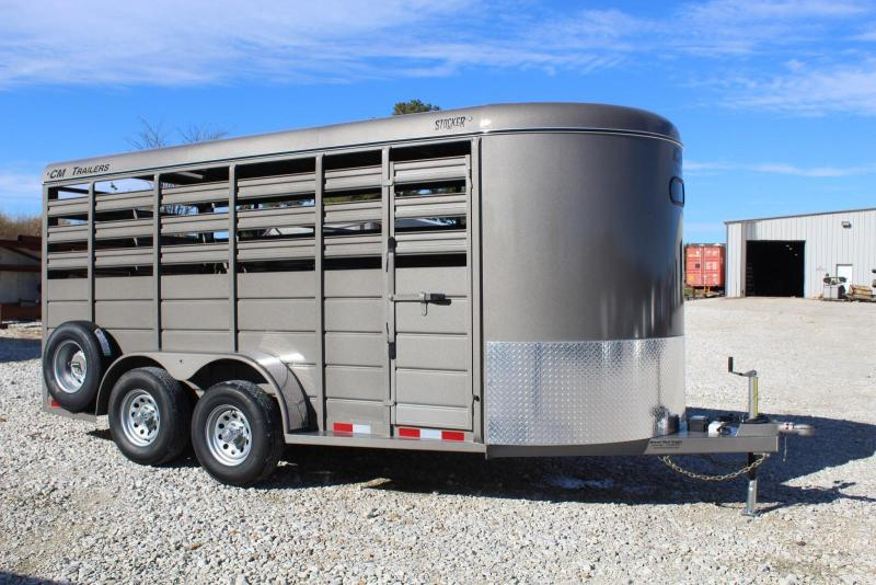 2019 CM 6'8x16 Livestock Trailer in Ashburn, VA