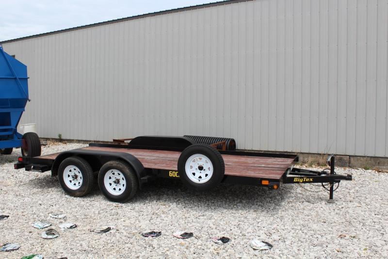 2013 Big Tex Trailers 60CH-16BK Car / Racing Trailer