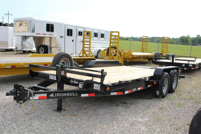 2018 Norstar ETB 18' Equipment Trailer