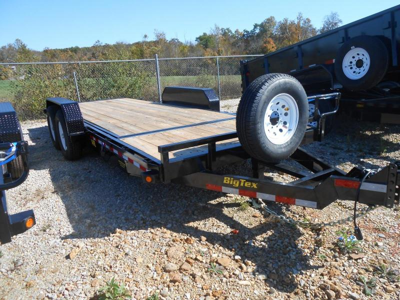 2017 Big Tex Trailers 14TL-20BK Equipment Trailer in Rector, AR