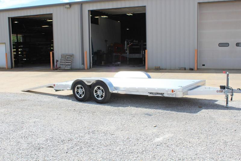 2019 Hillsboro Industries AOCT16 Car / Racing Trailer