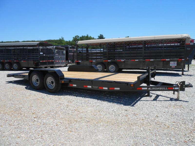 2017 Iron Bull TLB8320072 Equipment Trailer