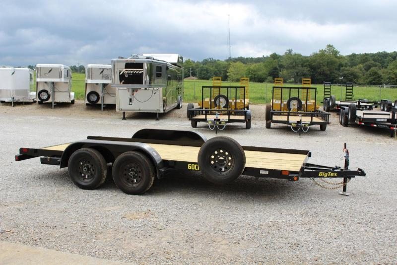 2019 Big Tex Trailers 60CH-16BK Car / Racing Trailer