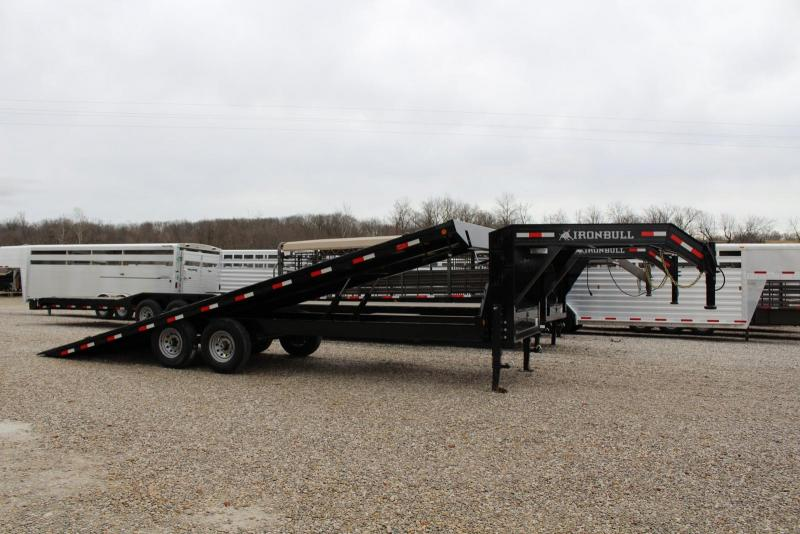 2018 Iron Bull TDG0224072 Equipment Trailer