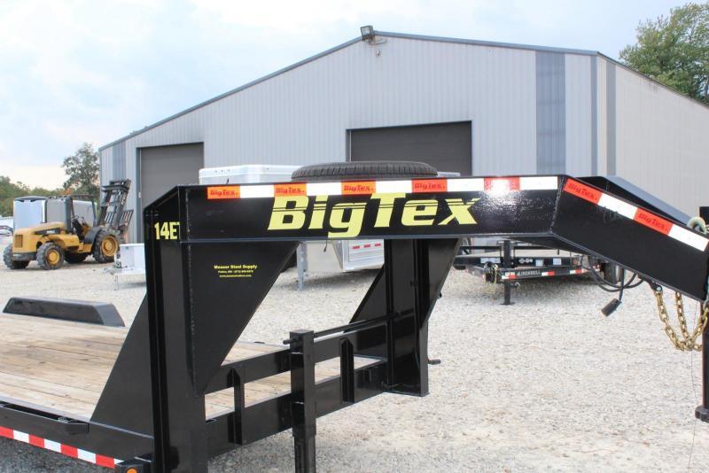 2017 Big Tex Trailers 14ET-20GN Equipment Trailer