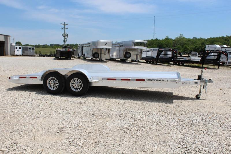2020 Featherlite 3110-0020 Equipment Trailer in Rector, AR