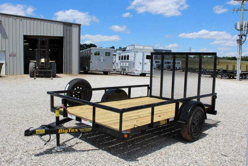 2020 Big Tex Trailers 35SA-10BK4RG Utility Trailer