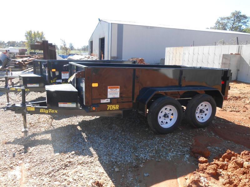 2017 Big Tex Trailers 70SR-10-5WDD Dump Trailer