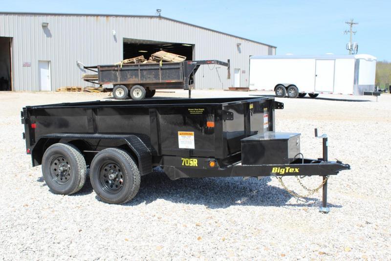 2019 Big Tex Trailers 70SR-10-5WDD Dump Trailer in MO