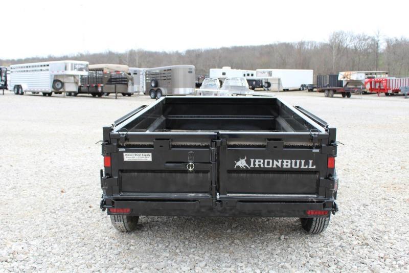 2018 Iron Bull DTB6010032 Dump Trailer