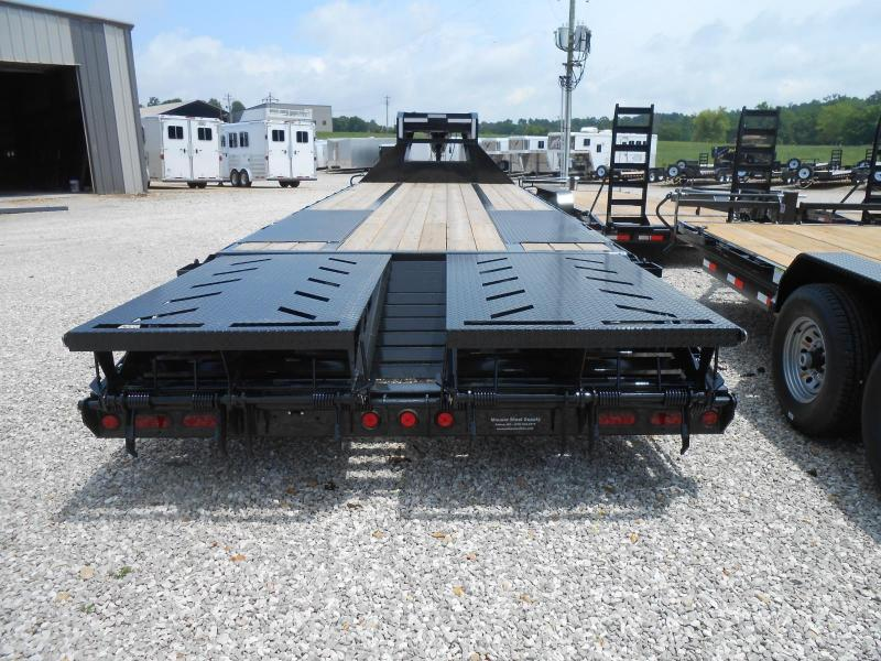 2017 Iron Bull FLG0228102 Flatbed Trailer