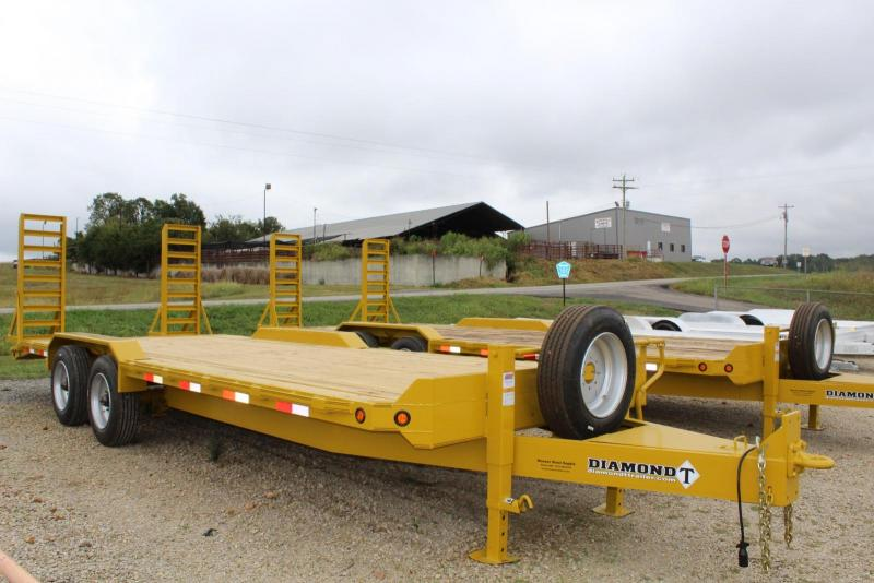 2017 Diamond T Trailers 8322SKPI1408 Equipment Trailer