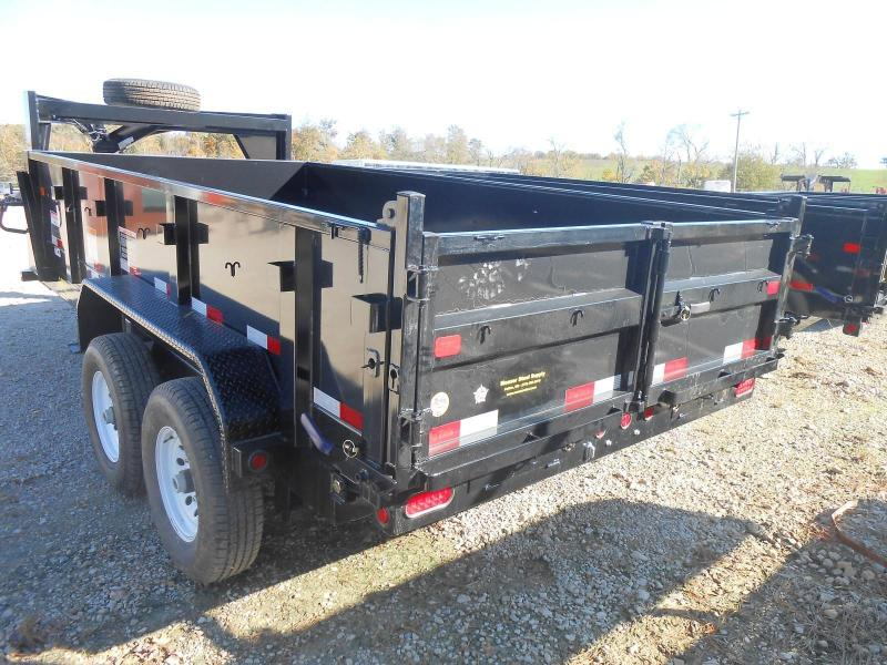 2017 Big Tex Trailers 14GX-14BK7SIRPD Dump Trailer
