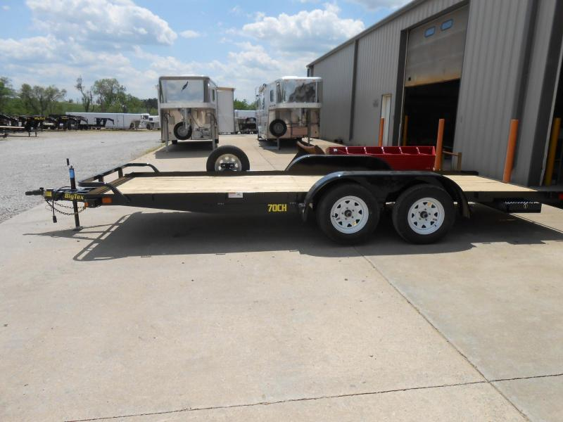 2017 Big Tex Trailers 70CH-18BK Car / Racing Trailer