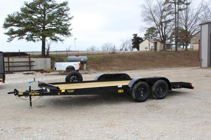 2019 Big Tex Trailers 70CH-18BKDT Car / Racing Trailer
