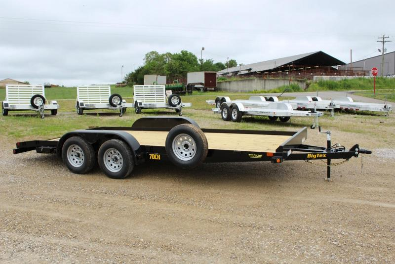 2020 Big Tex Trailers 70CH-18BKDT Car / Racing Trailer in Ashburn, VA