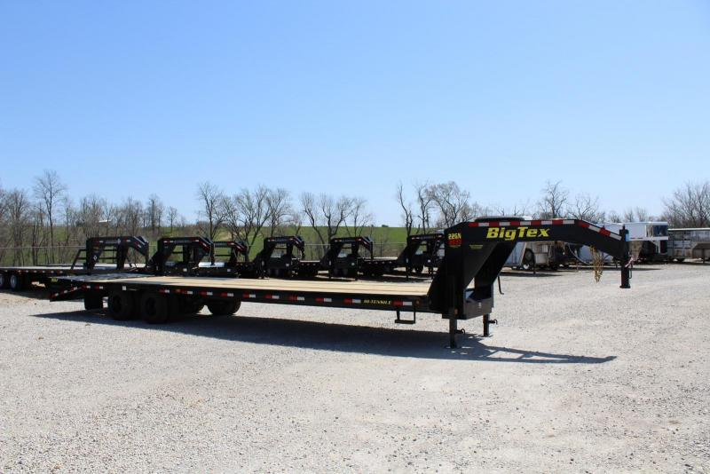 2019 Big Tex Trailers 22GN-30BK5MR Flatbed Trailer