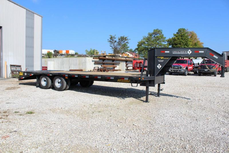 2017 Diamond T Trailers 10225DTF Flatbed Trailer