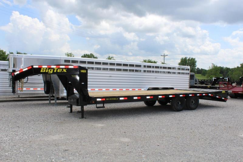 2018 Big Tex Trailers 14GN-20BK5MR Flatbed Trailer