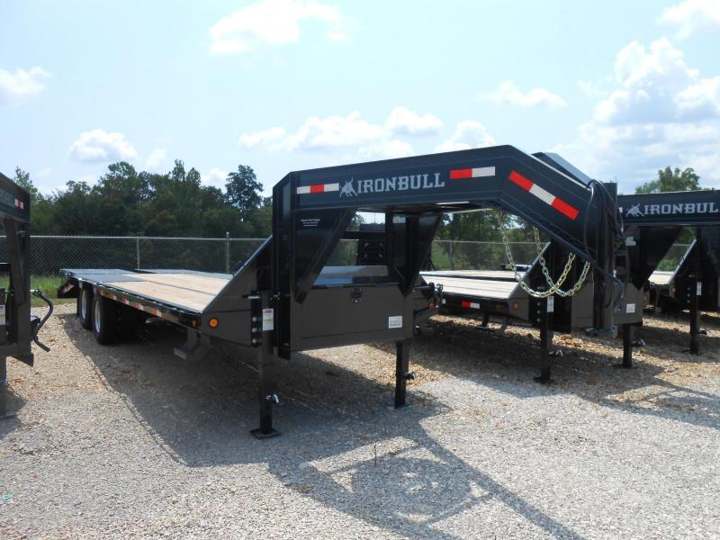 2017 Iron Bull FLG0225122 Flatbed Trailer