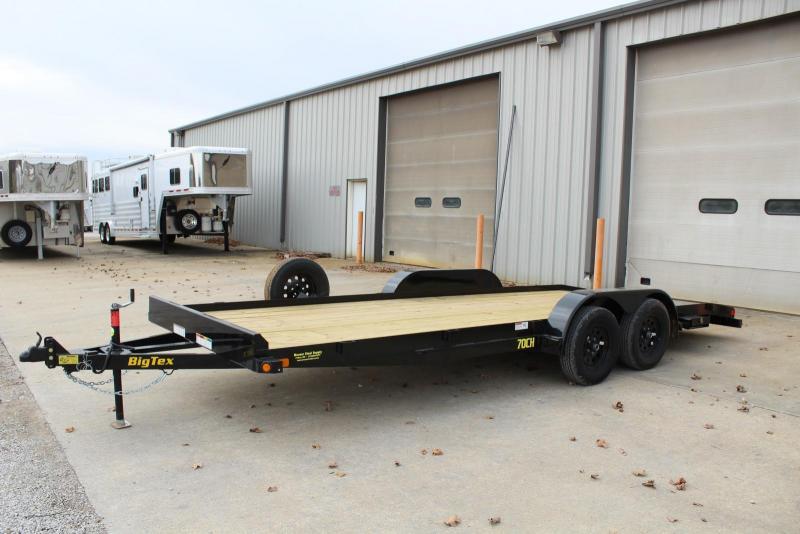 2019 Big Tex Trailers 70CH-20BKDT Car / Racing Trailer