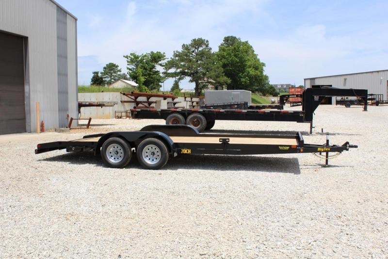 2020 Big Tex Trailers 70CH-20BKDT Car / Racing Trailer in Ashburn, VA