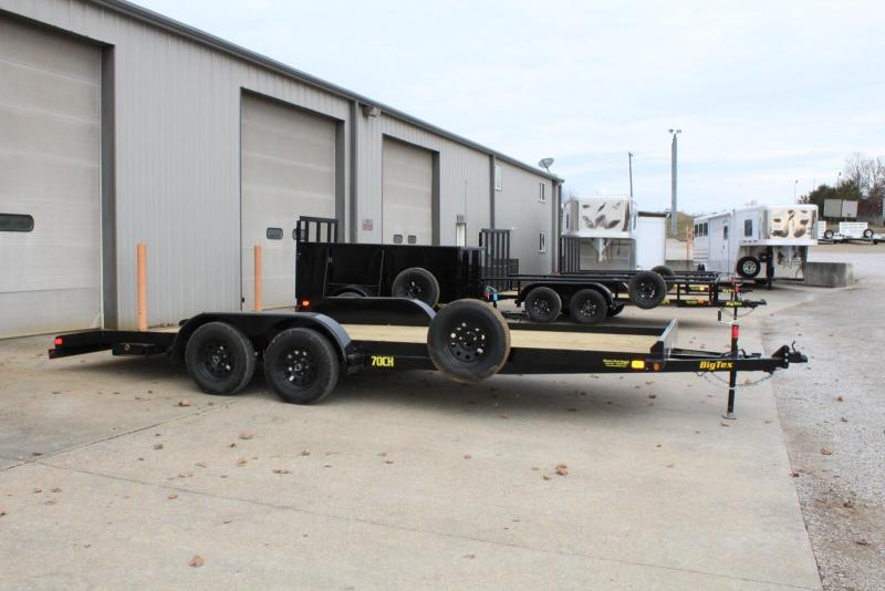 2019 Big Tex Trailers 70CH-20BKDT Car / Racing Trailer