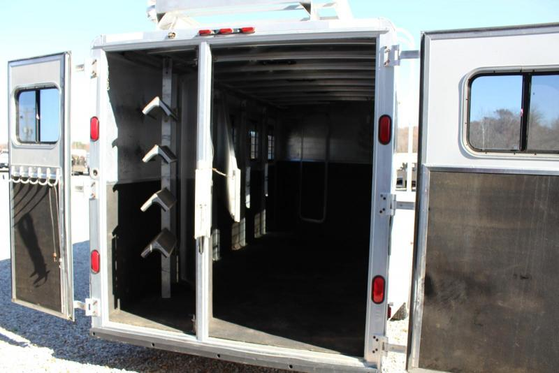 2002 Kiefer Built 4 Horse Trailer