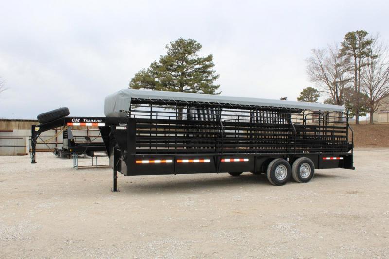 2019 CM CMS9440-24 Livestock Trailer