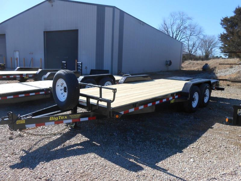 2017 Big Tex Trailers 14ET-20BK-MR Equipment Trailer