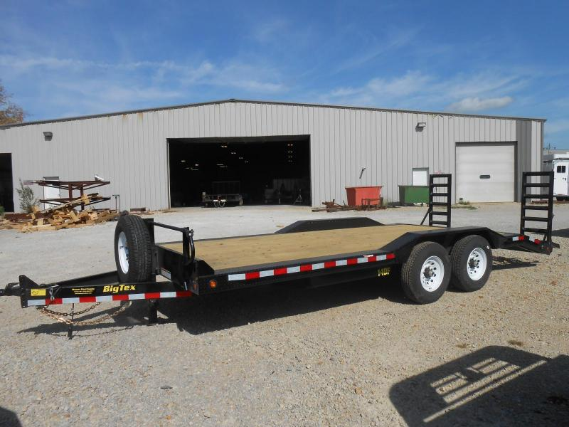 2017 Big Tex Trailers 14DF-20BK Equipment Trailer in Ashburn, VA