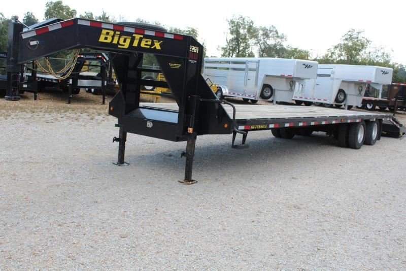 2018 Big Tex Trailers 22GN-285 Flatbed Trailer
