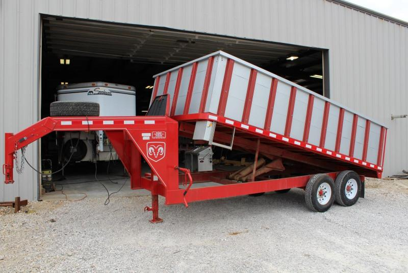 2009 Other Mouser 16' Dump Trailer