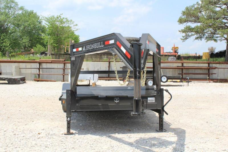 2018 Iron Bull TLG0220072 Equipment Trailer