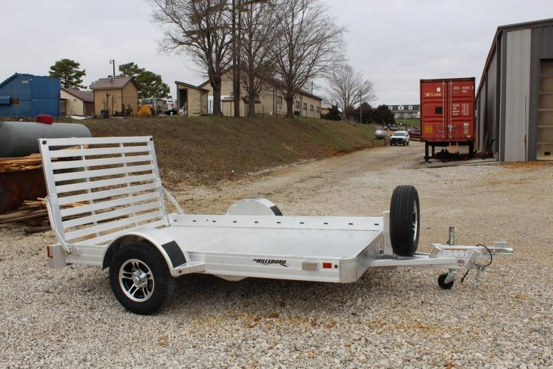 2019 Hillsboro Industries AU7810 Utility Trailer