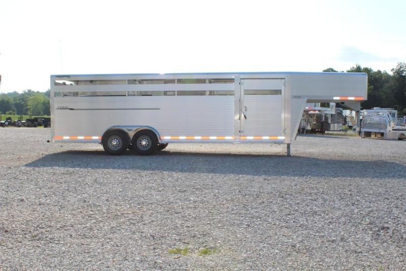2019 Hillsboro Industries Endura Livestock Trailer
