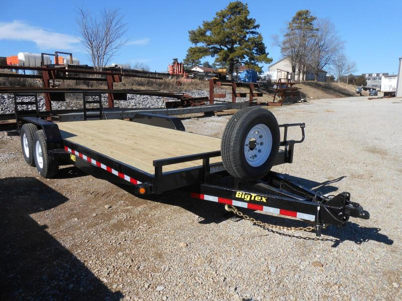 2016 Big Tex Trailers 14ET-20BK-KR Equipment Trailer