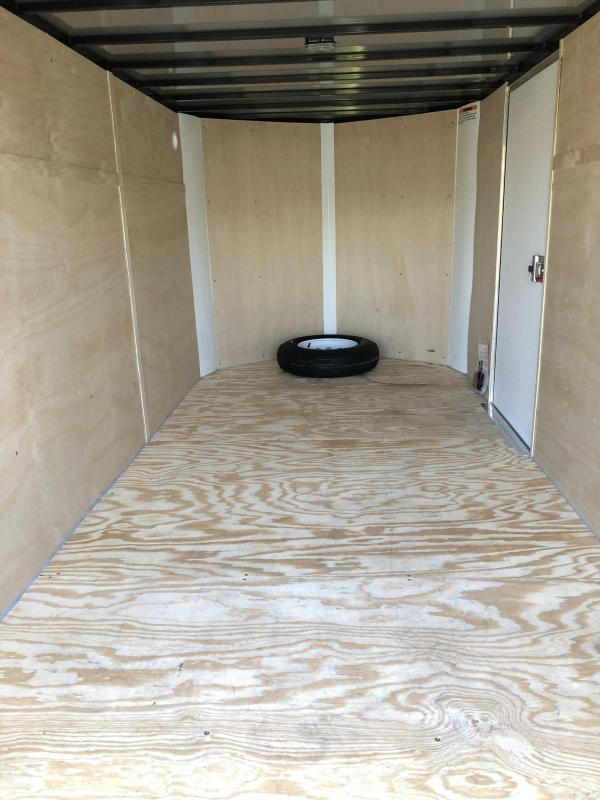 2020 Sharp 6X12 SEL Enclosed Cargo Trailer