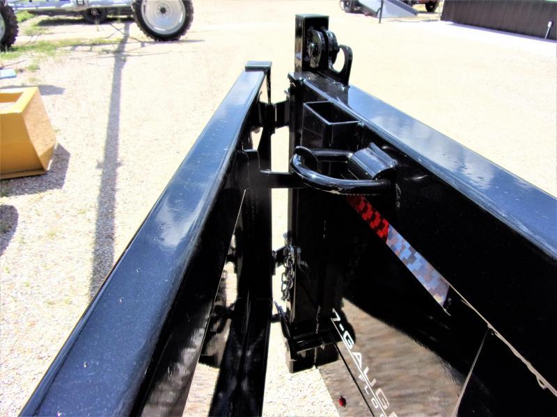 2020 Lamar Trailers 83 x 16 Low Pro Gooseneck Dump Trailer GVWR 21K