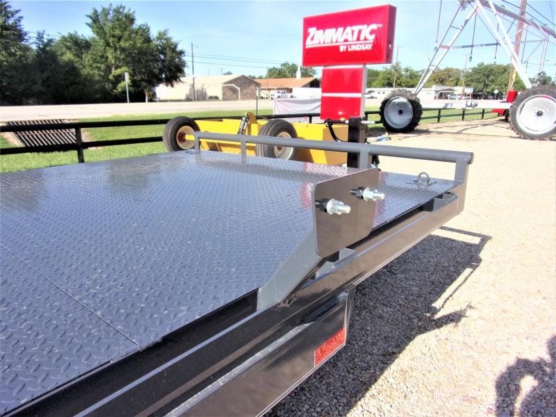 "2019 Lamar 83"" X 22' Bumper Pull Equipment Hauler GVWR 14K"