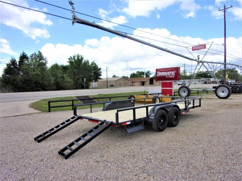 2020 Lamar Trailers 83X18 Utility Trailer GVWR 10K
