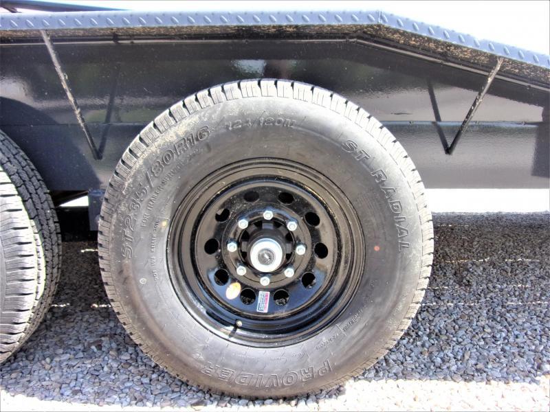 2020 Lamar 102 x 38' HD GOOSENECK LOWBOY / CAR HAULER GVWR 14K