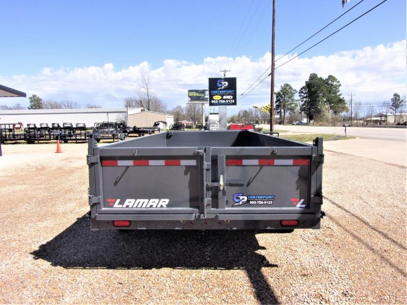 2020 Lamar Trailers 83 x 16' Low Pro Dump Trailer GVWR 14K