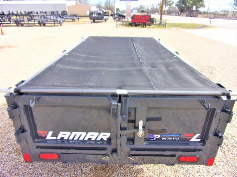 "2020 Lamar 60"" X 10' BUMPER PULL DUMP GVWR 7K"