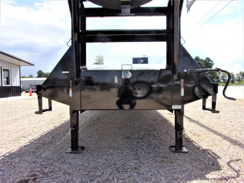 "2019 Lamar Trailers 102"" X 36' Gooseneck Low Pro XD Deckover GVWR 20000"